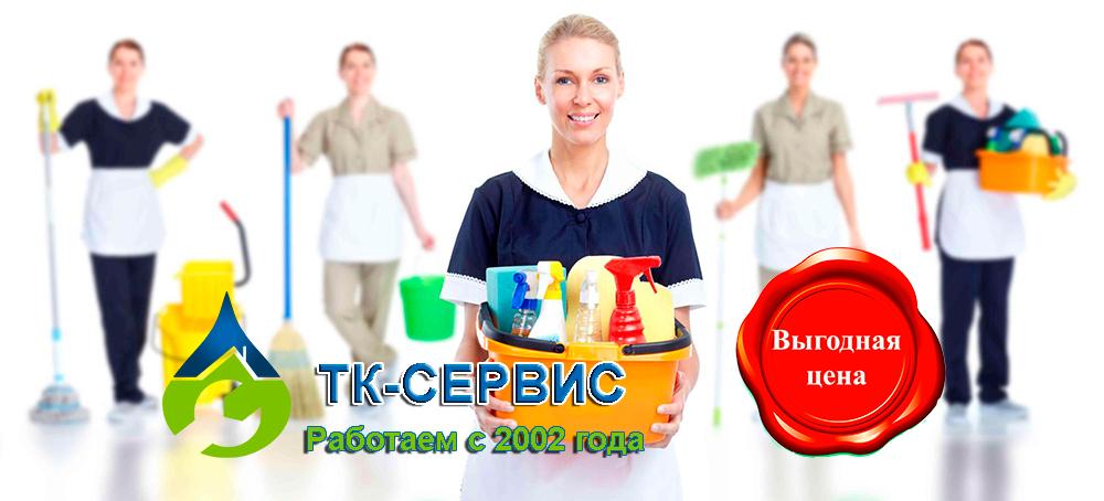 услуги профессиональной уборки от ТК-сервис