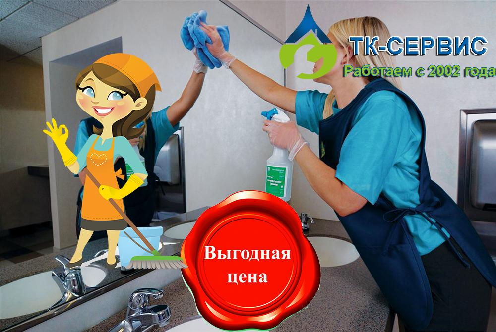 Уборка квартиры Одинцово в ТК-сервис